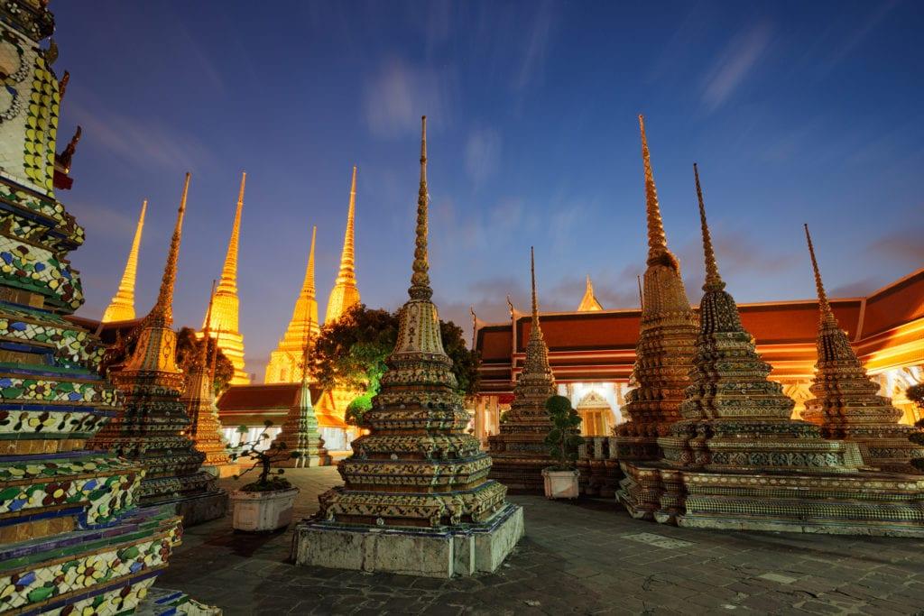 Świątynia Wat Pho, Bangkok Tajlandia