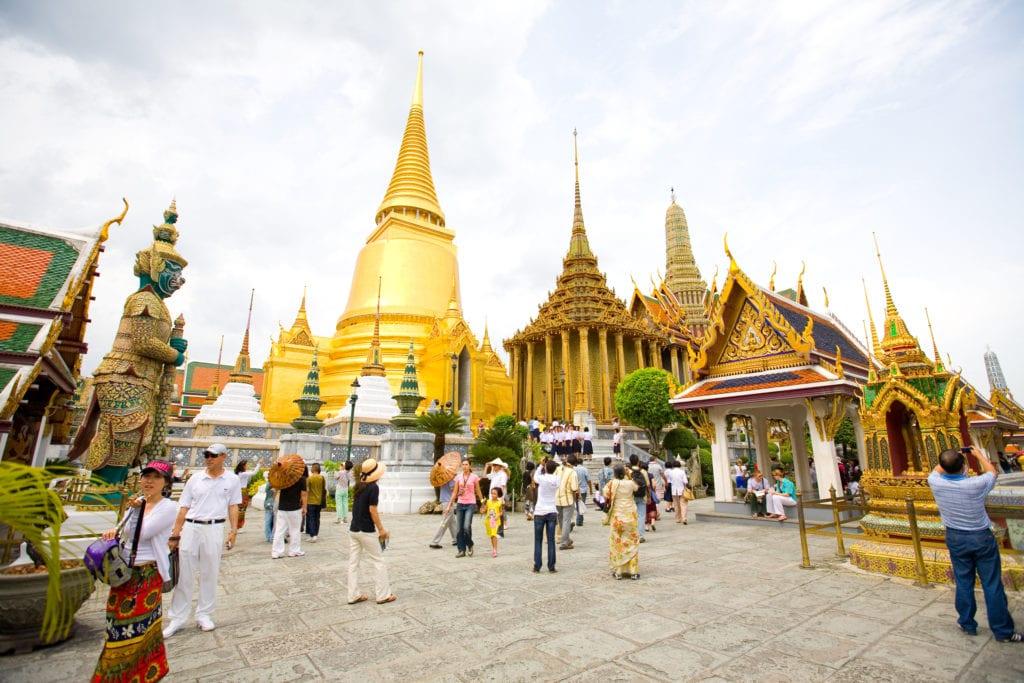 Grand Palace, Wielki Pałac Królewski, Bangkok Tajlandia