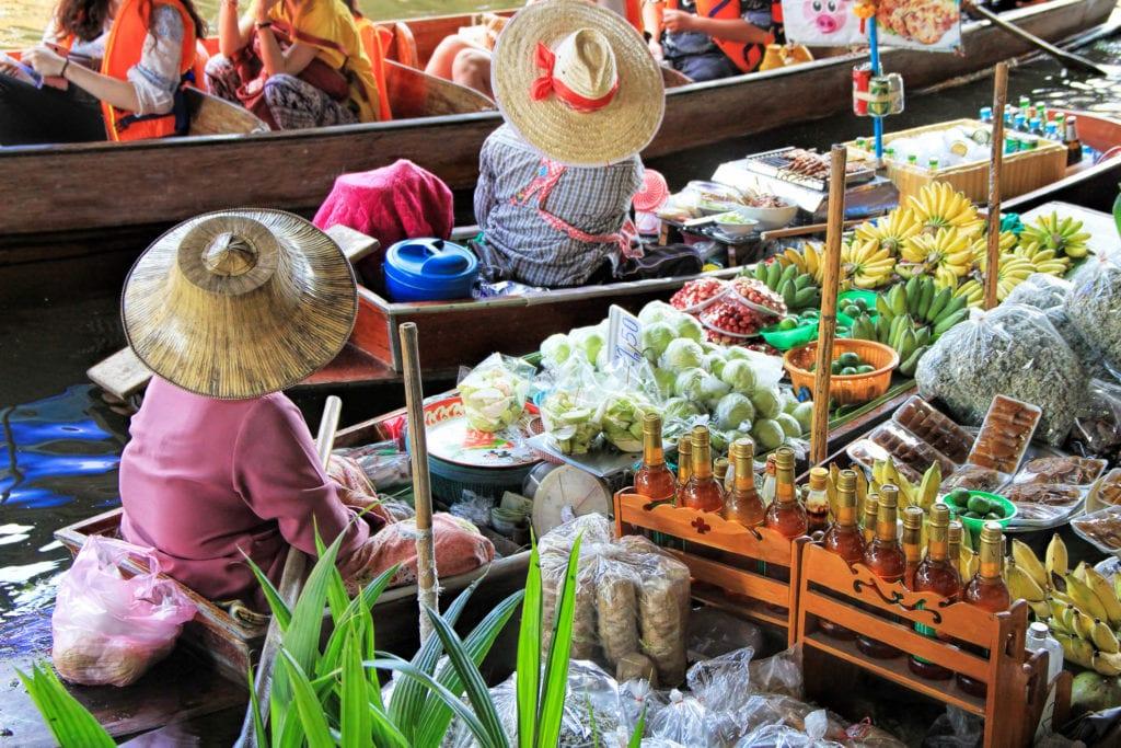 Pływający targ, Bangkok