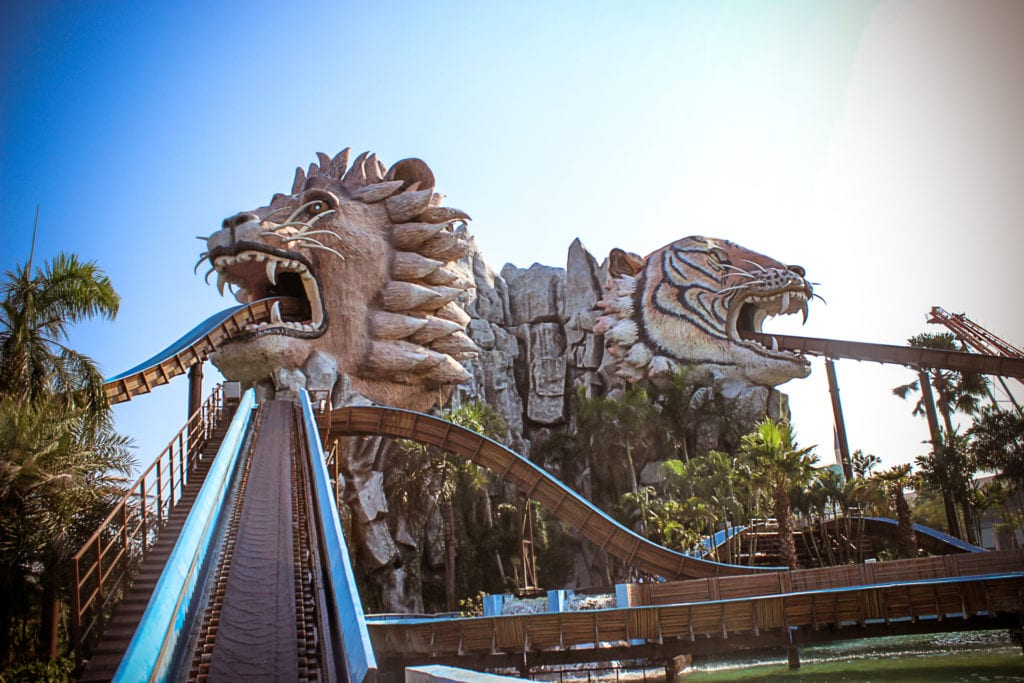 Park rozrywki Dream World w Bangkoku, Tajlandia