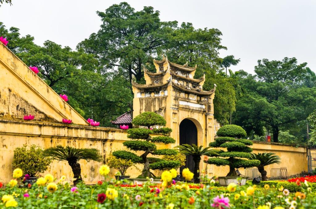 Cytadela Cesarska Thang Long, Hanoi Wietnam