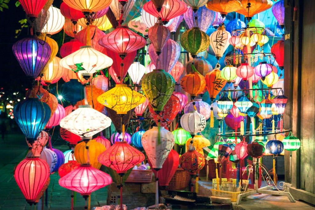 Hoi An to miasto lampionów, Wietnam