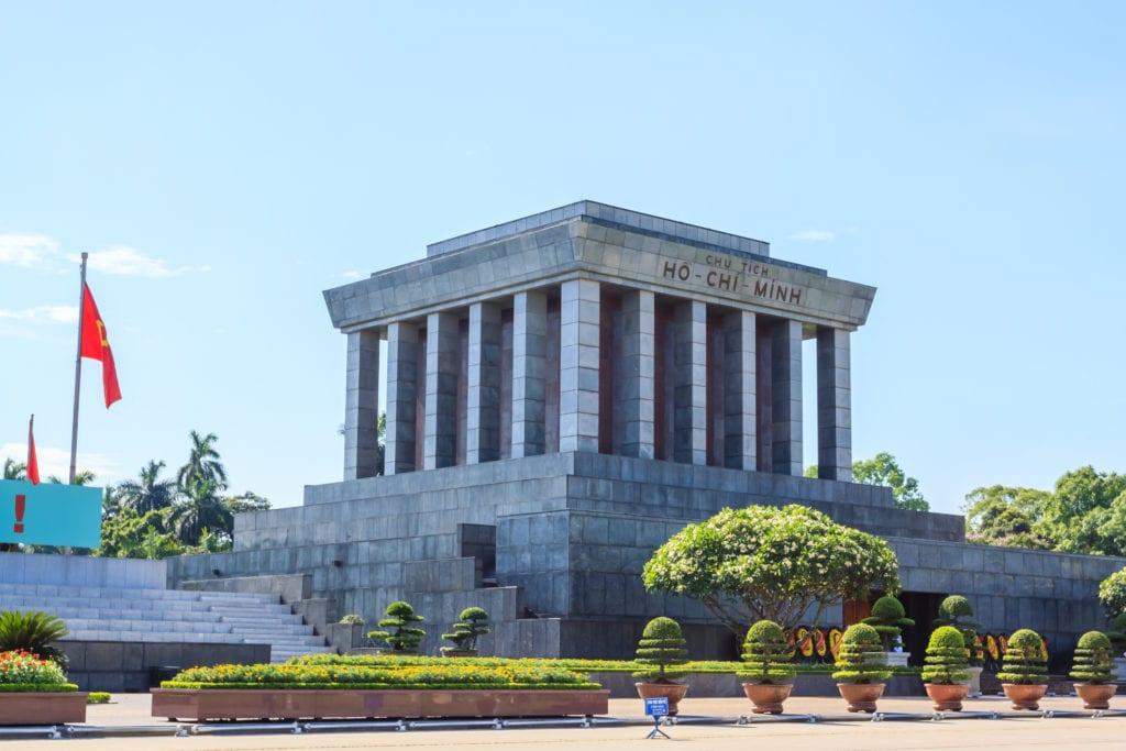 Mausoleum Ho Chi Minh Wietnam