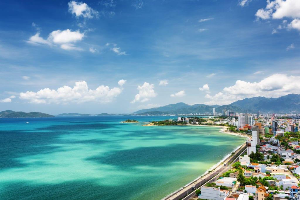 Plaże w Nha Trang, Wietnam