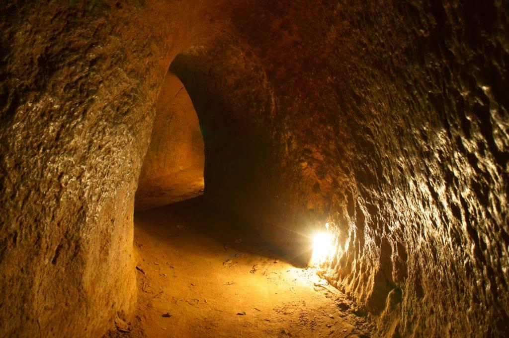 Tunele Cu Chi, Wietnam