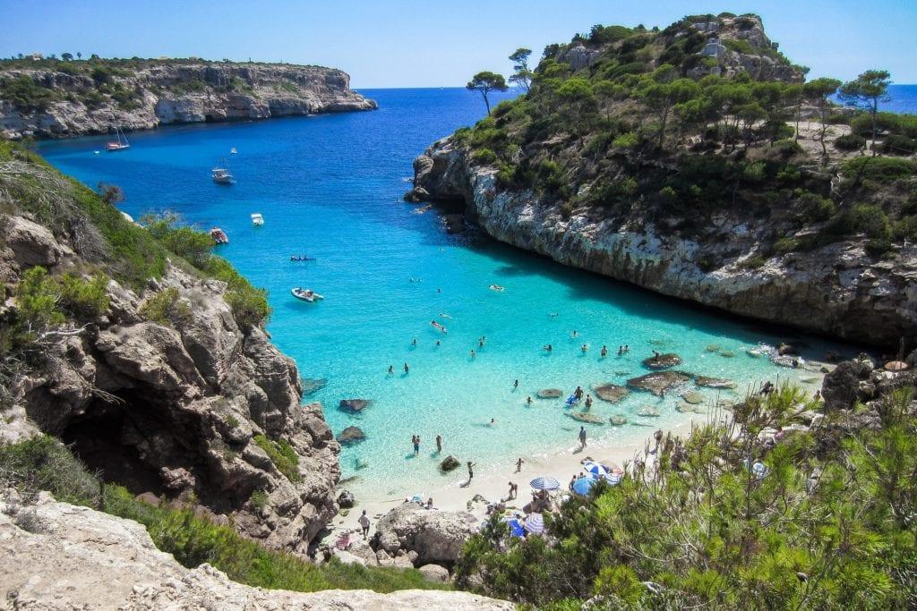 Ukryte plaże na Majorce,