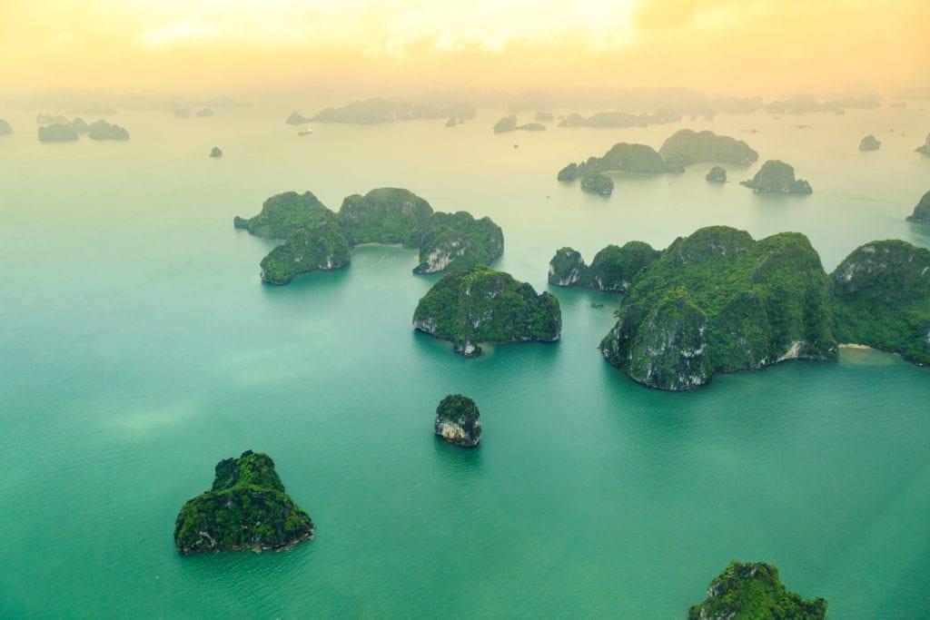 Zatoka Lądującego Smoka, Wietnam