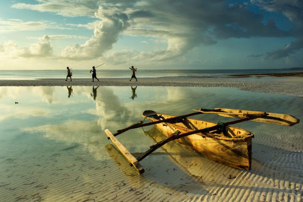 Łódź dhow, Zanzibar