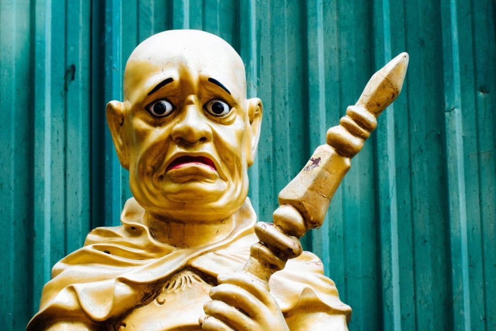 Świątynia Dziesięciu Tysięcy Buddów, Hong Kong
