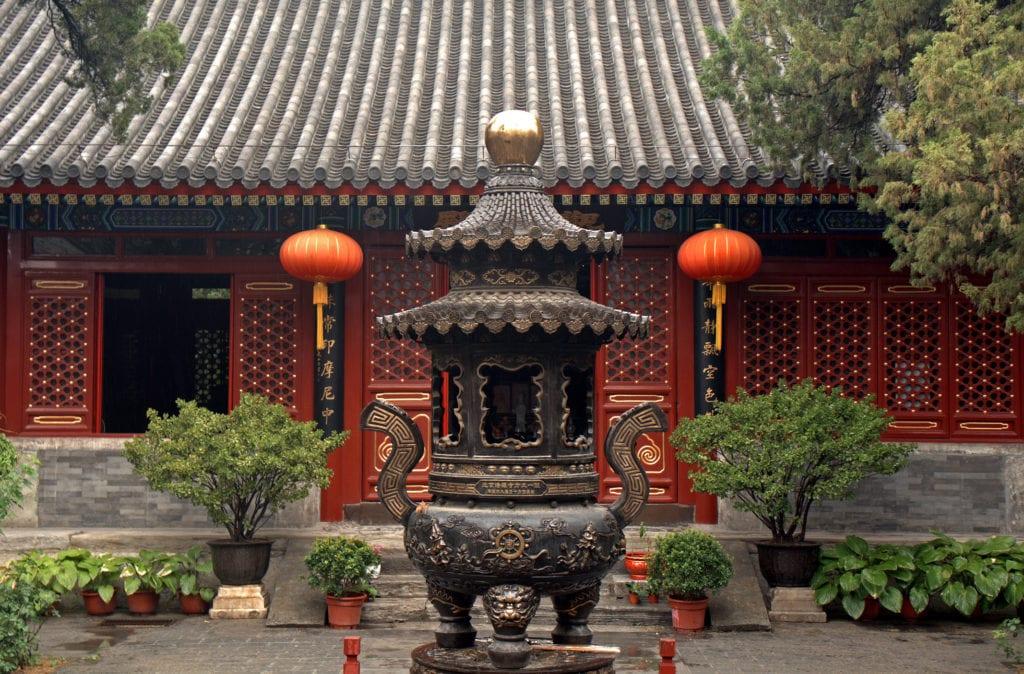 Świątynia Fayuan Si, Pekin