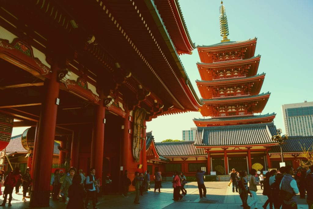 Świątynia Sensōji, Tokio