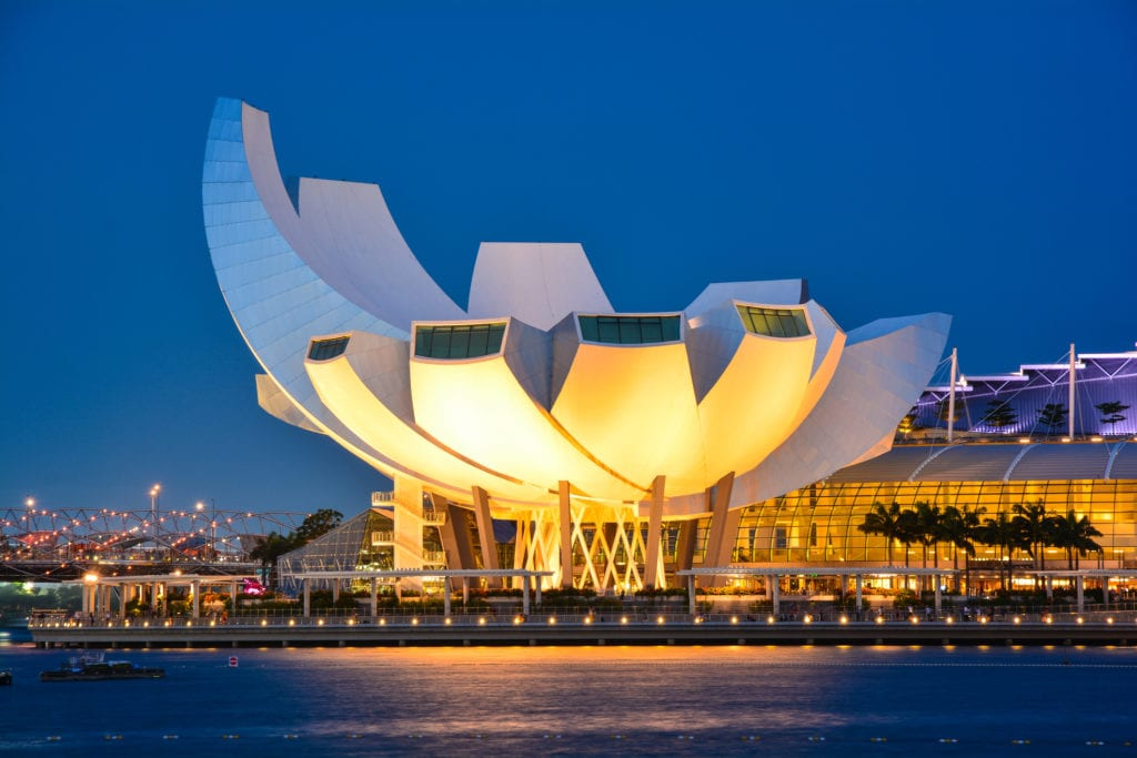 ArtScience Museum, Singapur