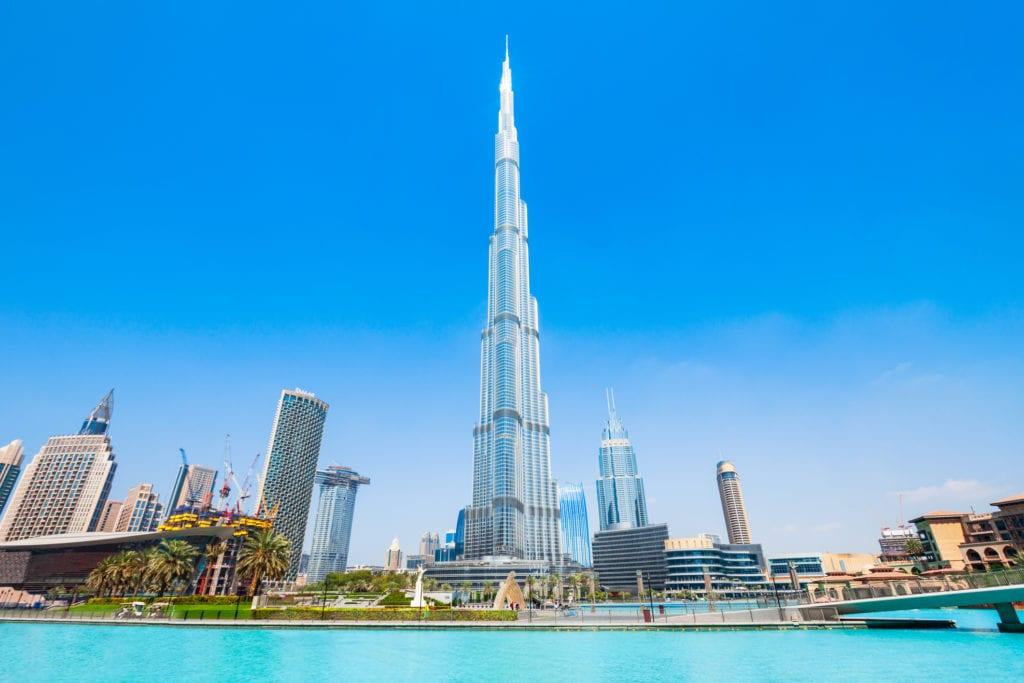 Burj Khalifa, Dubaj