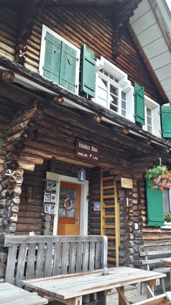 Chata Gafadura Hütte LAV, fot. archiwum własne