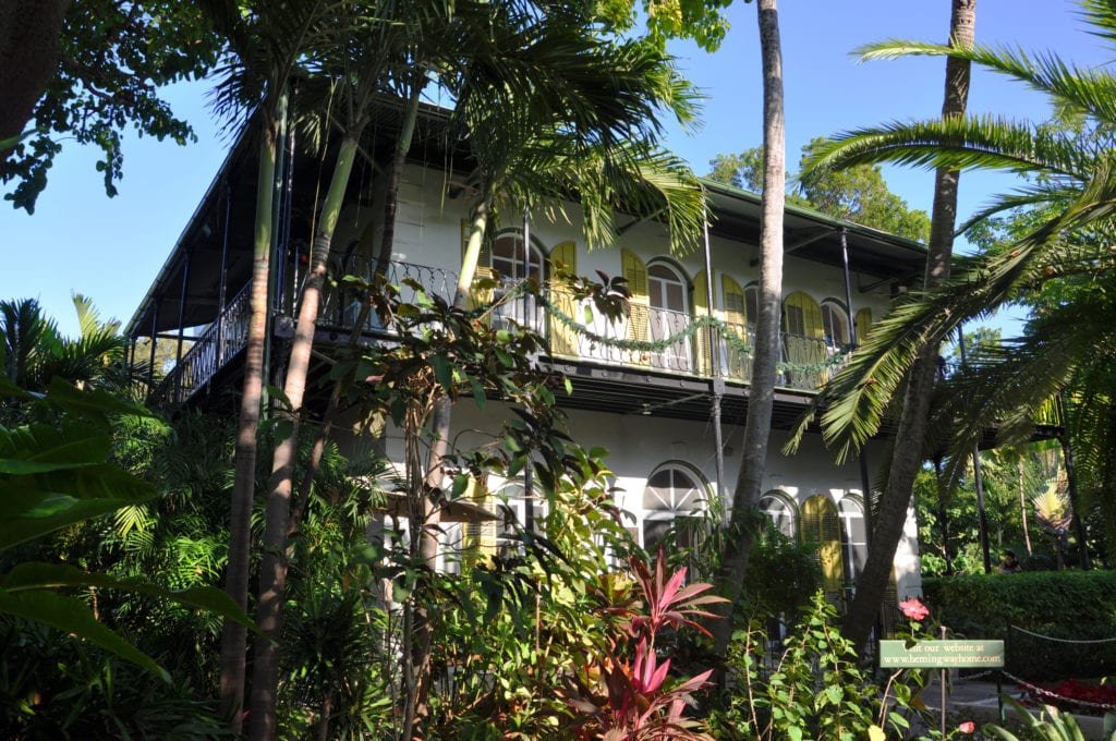 Dom Ernesta Hemingwaya, Floryda