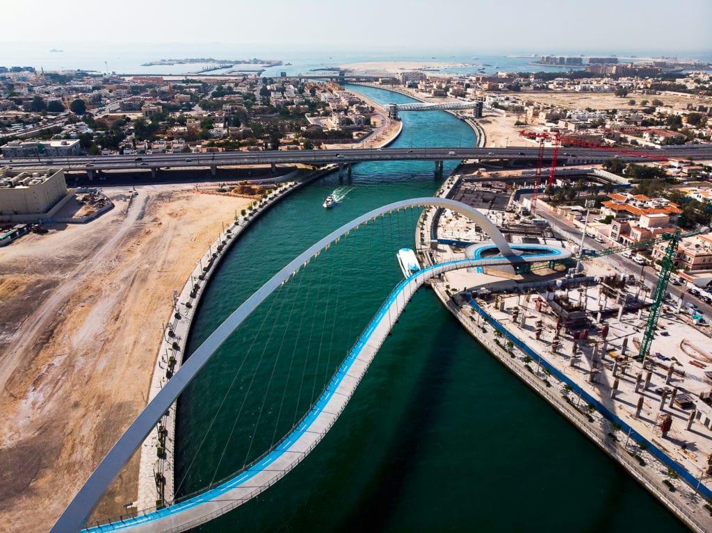 Kanał w Dubaju,