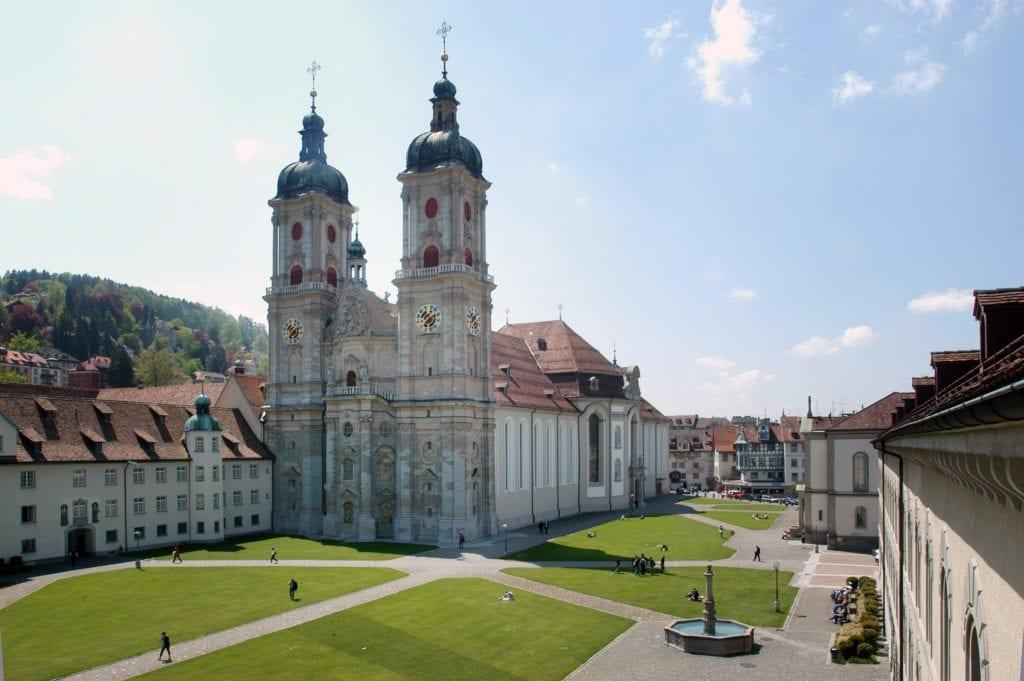 Katedra w St. Gallen, Szwajcaria