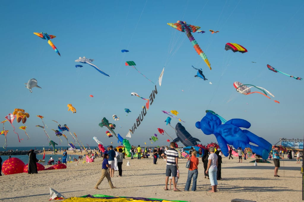 Kite Festival w Dubaju,