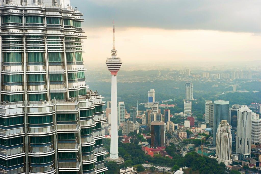 Menara Kuala Lumpur, Malezja