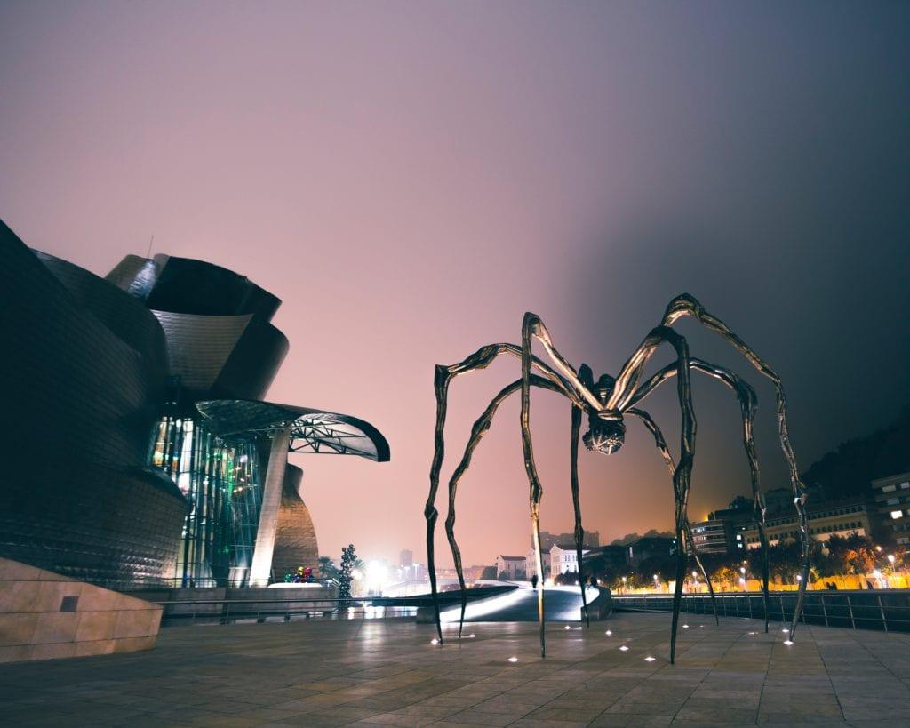Muzem Guggenheim w Bilbao,
