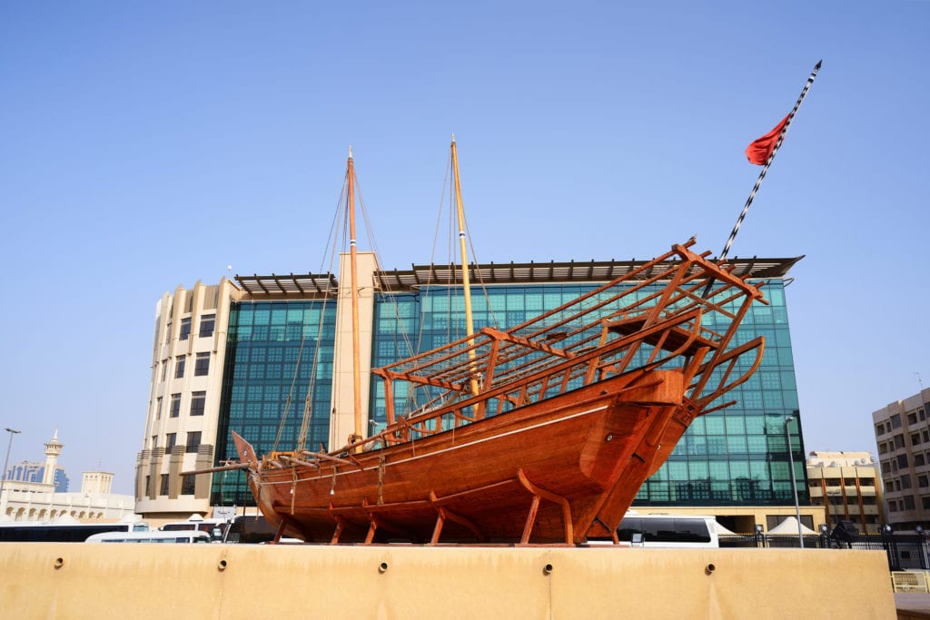 Muzeum historyczne w Dubaju w Al Fahidi,