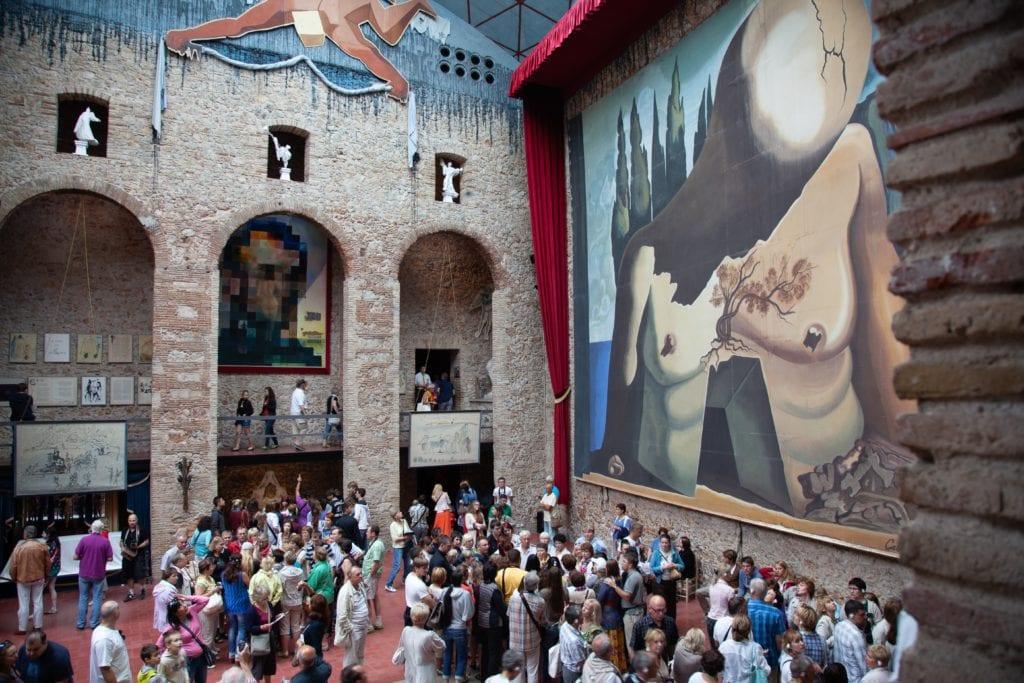 Muzeum w Figueres, Hiszpania