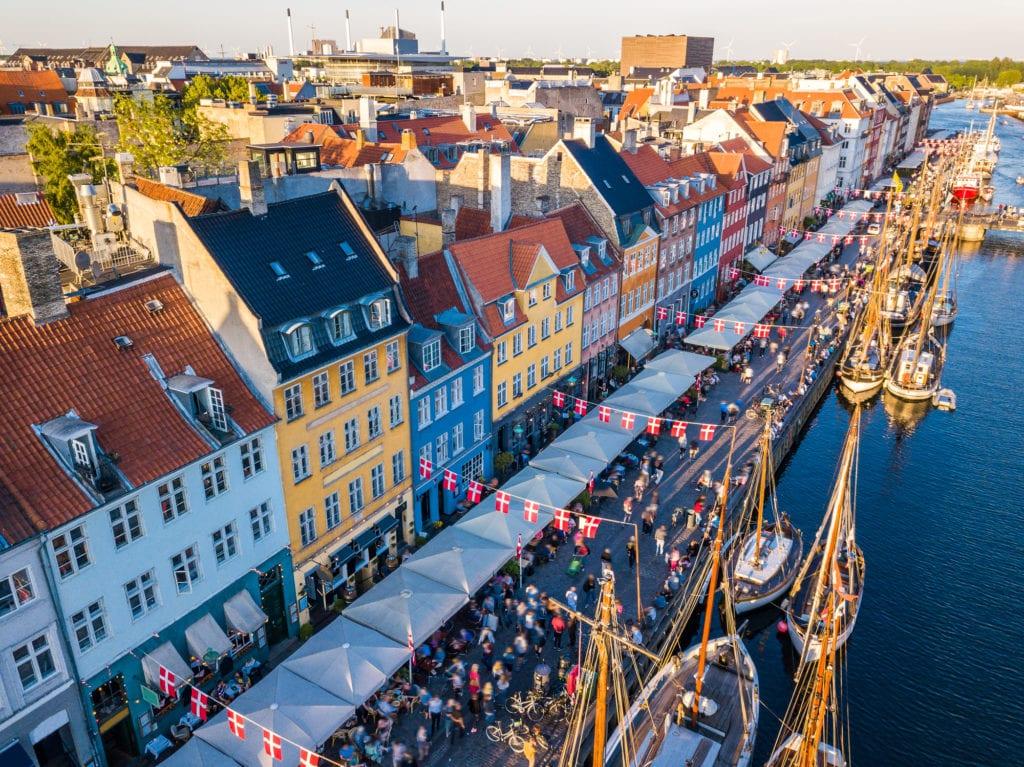Nyhavn, Nowy Port, Kopenhaga Dania