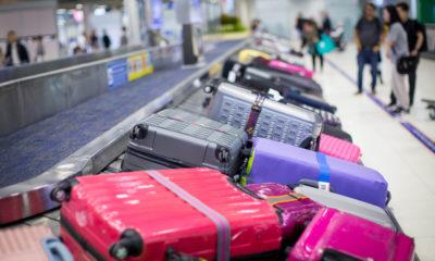 Odbiór bagażu rejestrowanego na lotnisku