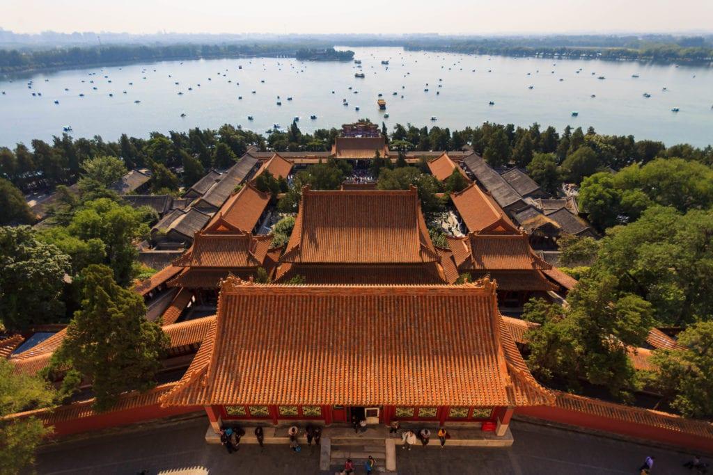 Pałac Letni w Pekinie i sztuczne jezioro Kunming, Pekin