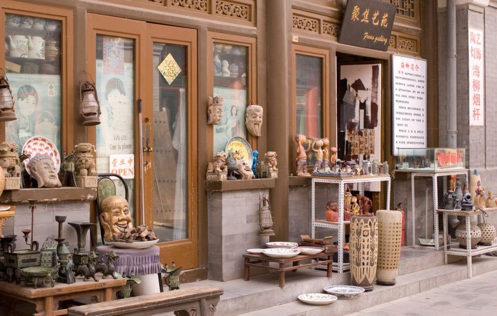 Panjiayuan to idealne miejsce na zakup ciekawych pamiątek z wakacji, Pekin