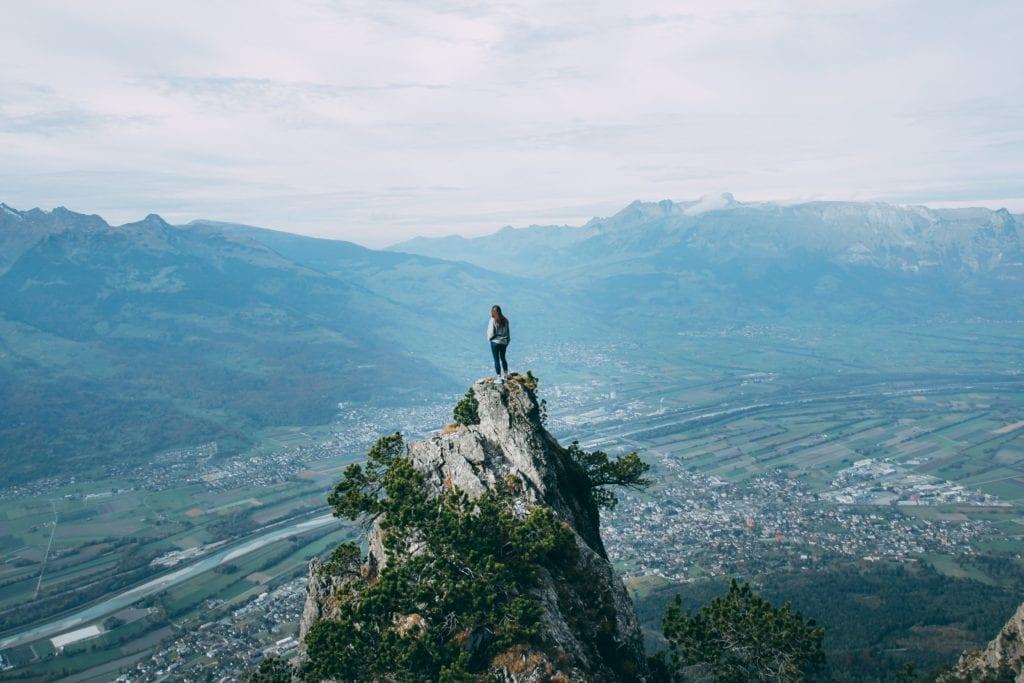 Panorama Liechtensteinu,