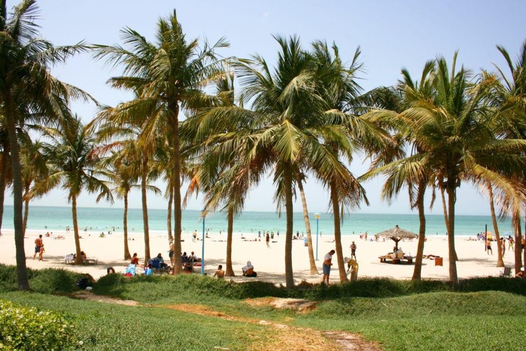 Park plażowy w Jumeirah, Dubaj