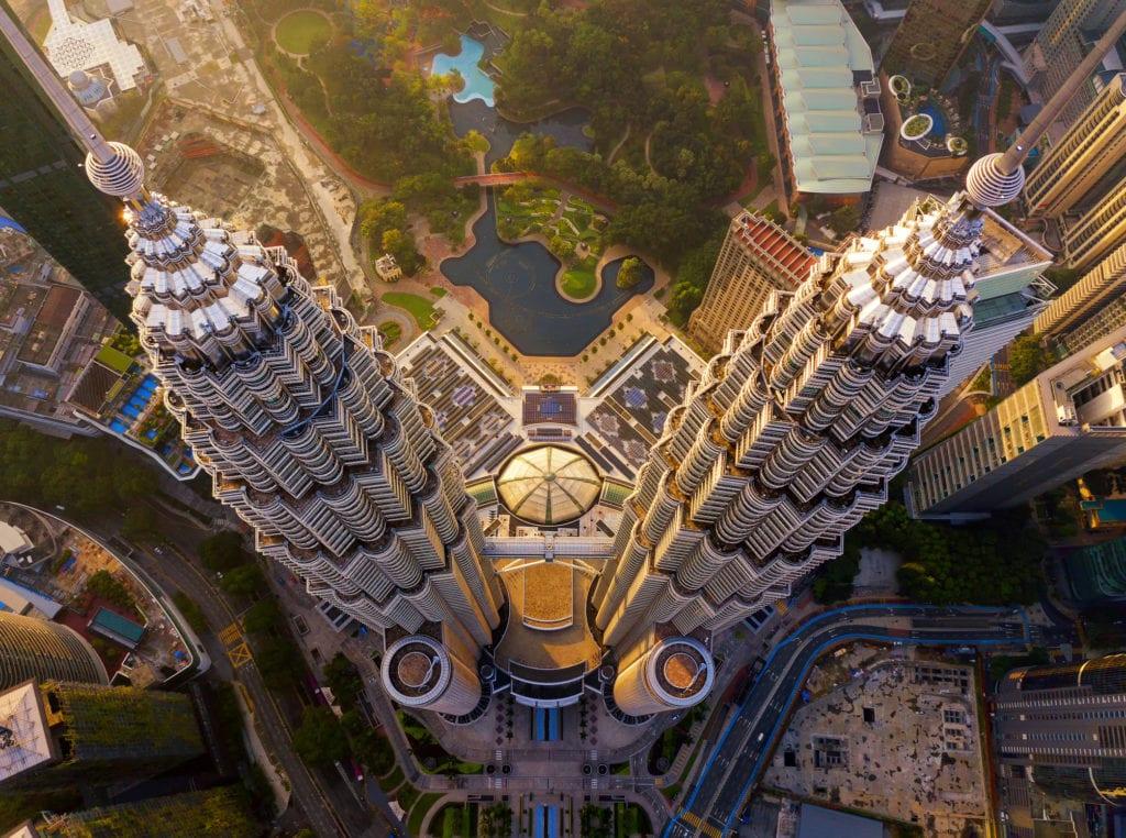 Petronas Towers, Kuala Lumpur, Malezja