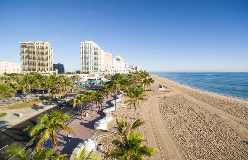 Plaże w Fort Lauderdale, Floryda