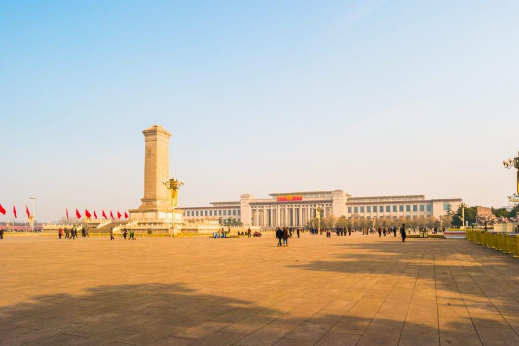 Plac Tian'anmen, Pekin