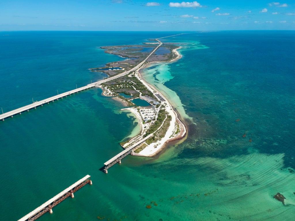 Road 1 do Key West, Floryda USA