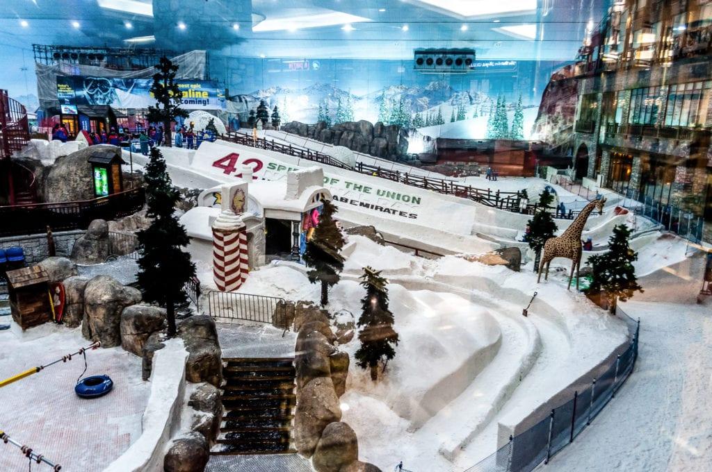 Ski Dubai w Dubaju,