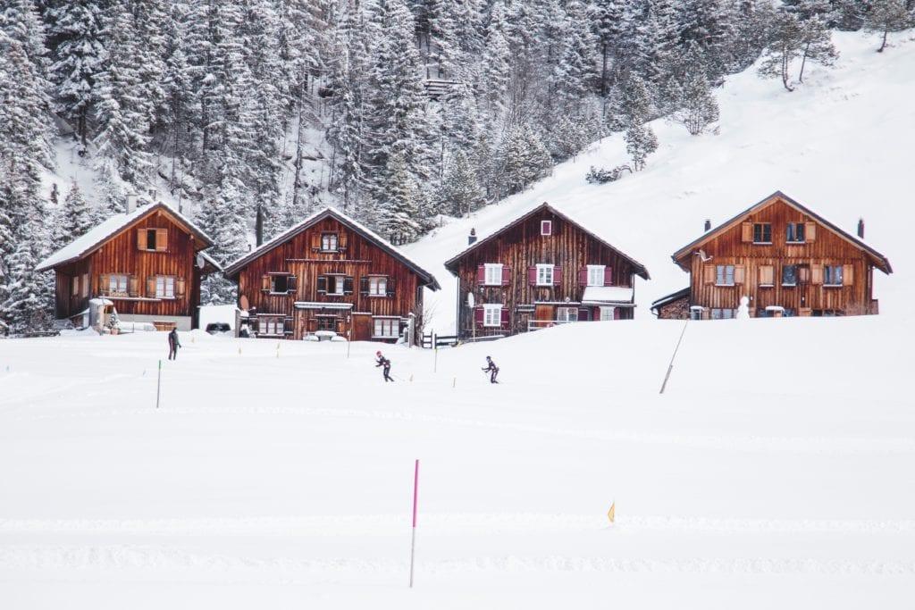 Steg, Triesenberg w Liechtensteinie,