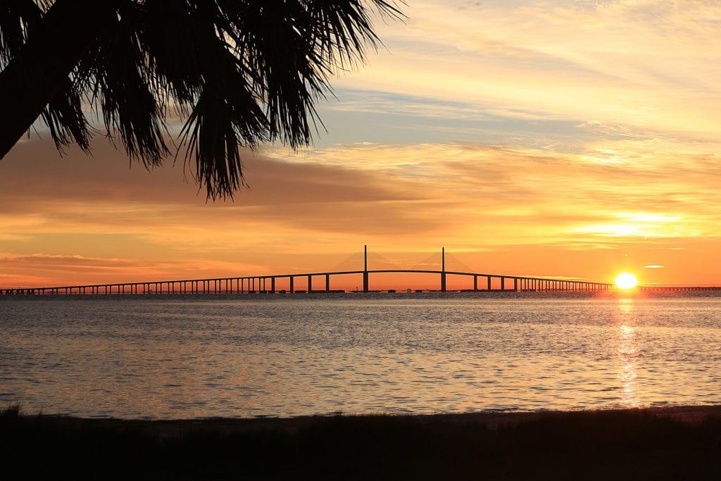 Sunshine Skyway Bridge, Floryda