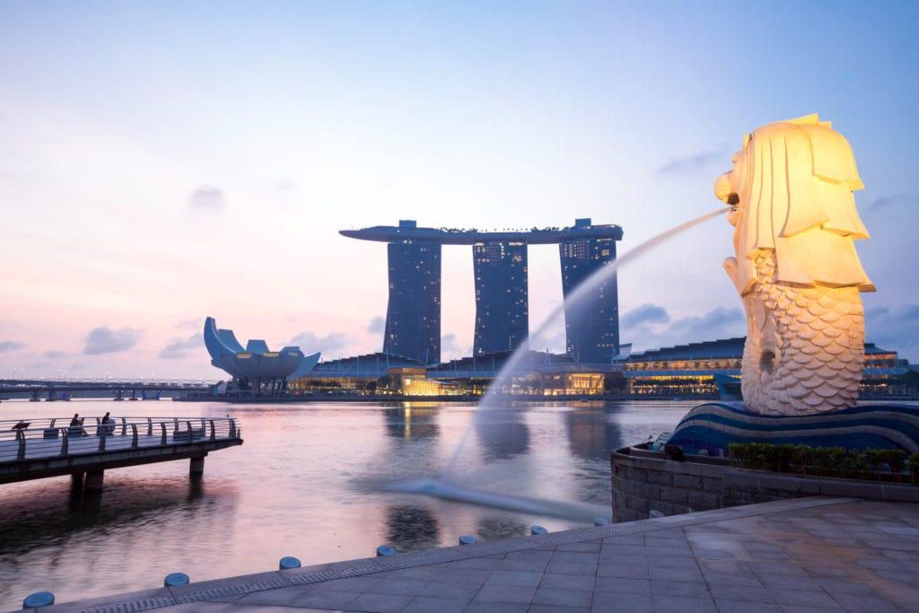 Symbol Singapuru - Merlion