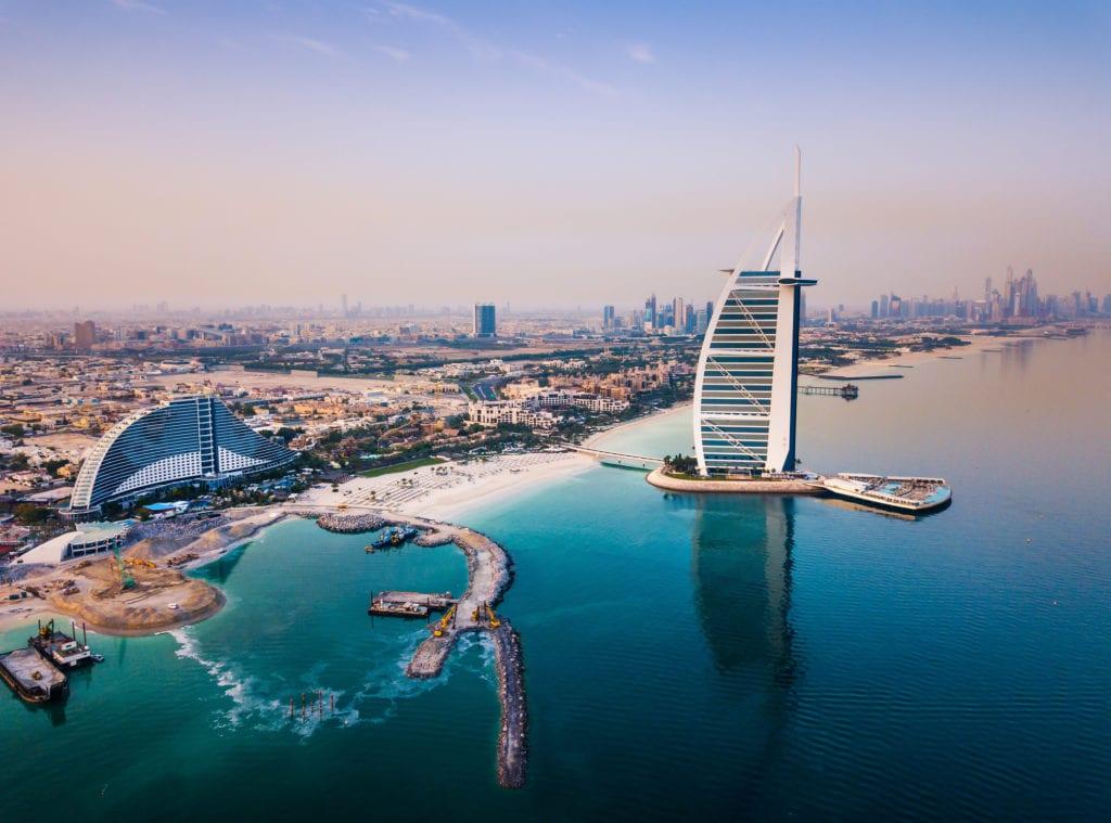 Symbol miasta - Burj Al Arab, Dubaj
