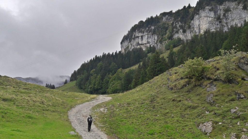 Szlak do Wildkirchli, fot. archiwum własne