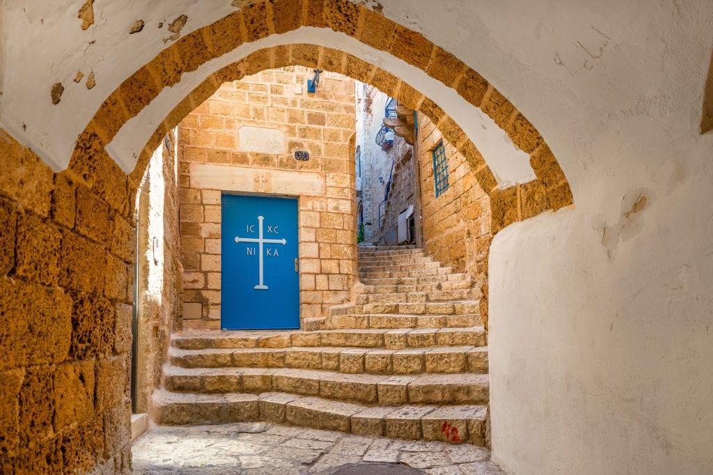 Uliczki w Starej Jafie, Tel Aviv Izrael