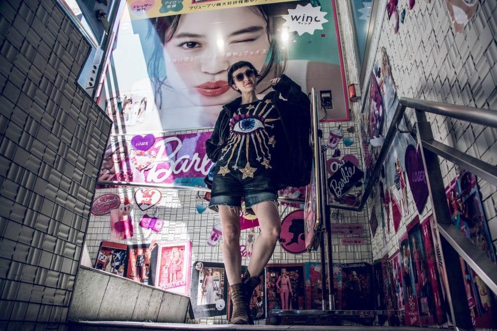 W dzielnicy Harajuku oryginalny styl jest na porządku dziennym,