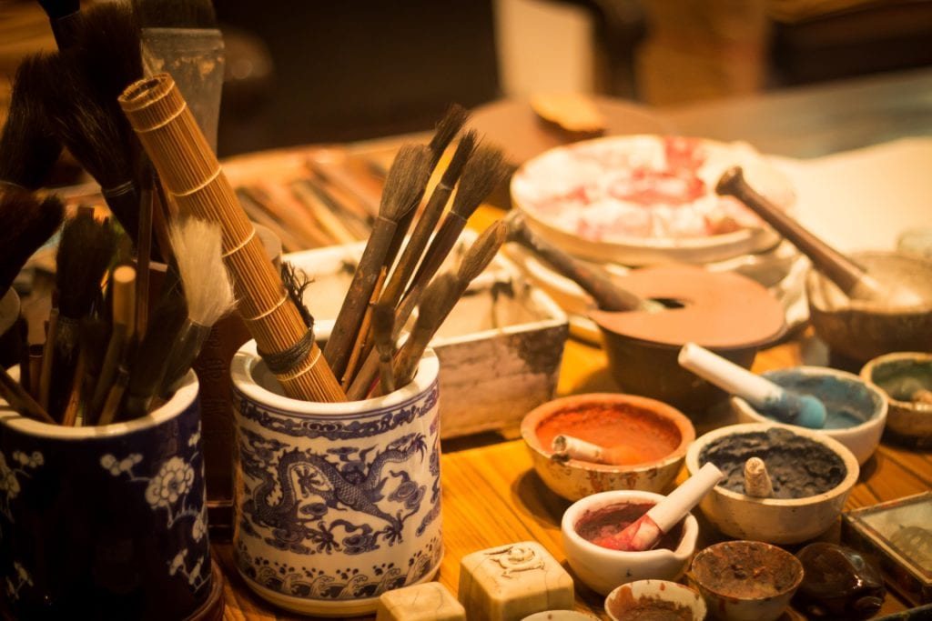W muzeum można poznać historię miasta i elementy jej kultury, Hong KOng