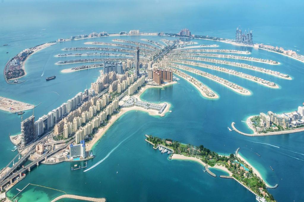 Wyspa Palmowa w Dubaju,