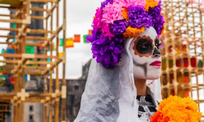Zócalo, Día de Muertos, Mexico City