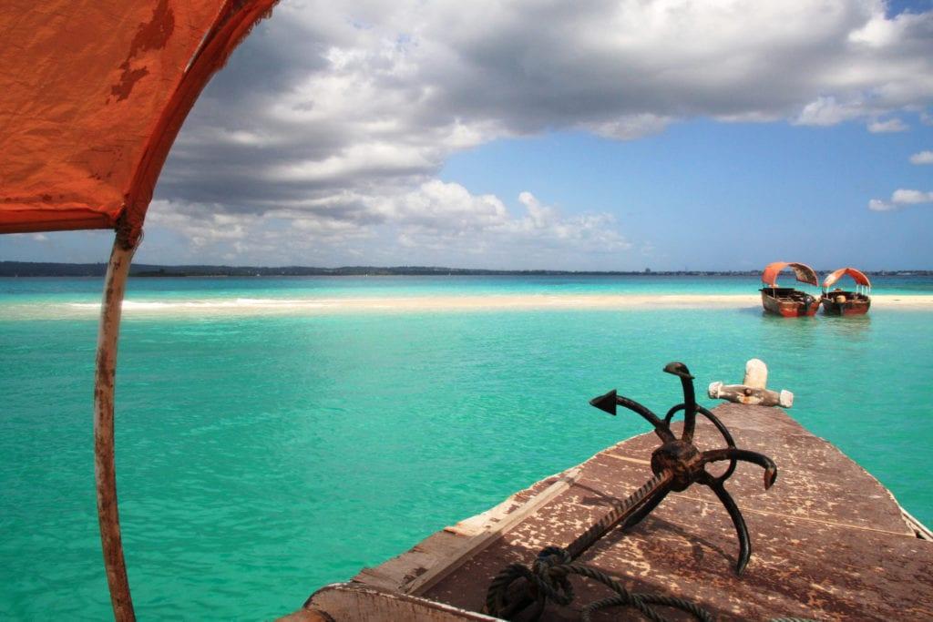 Zjawisko Sand Bank, Zanzibar