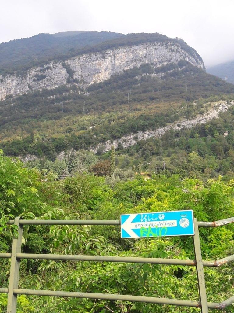 Szlak Green Way nad jeziorem Como