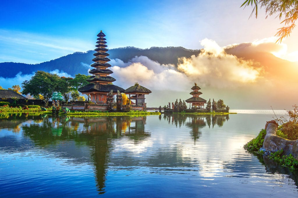 Świątynia Pura Ulun Danu Bratan, Bali Indonezja